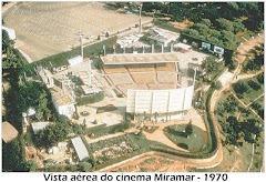 VISTA AÉREA DO CINEMA MIRAMAR - 1970.