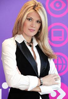 Zoya Sakr, Arabic beauty queen and corporate/media hotshot