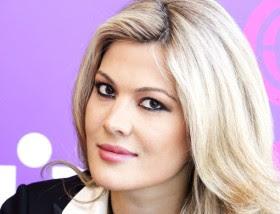 Zoya Sakr, Lebanese-Russian beauty queen and corporate communications hotshot for Al Aan TV channel