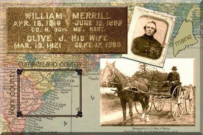 William Thurston Merrill of Cumberland County, Maine