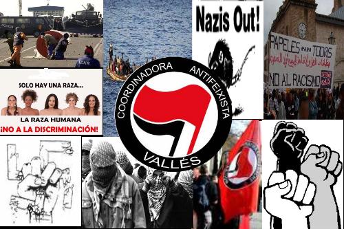 coordinadora            antifeixista                valles