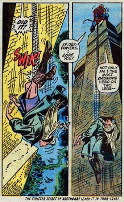 Amazing Spider-Man #121, how does Gwen Stacy die?