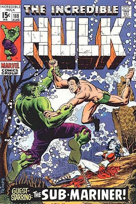 Incredible Hulk #118, the Sub-Mariner