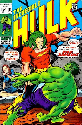 Incredible Hulk #141, Doc Samson, first appearance and origin