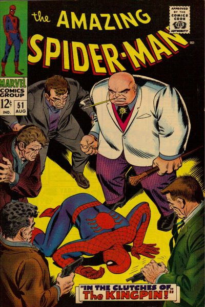 Amazing Spider-Man #51 the Kingpin