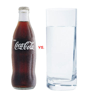 coke versus water: the quickening