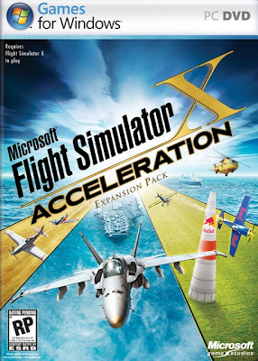 Microsoft Flight Simulator X Acceleration iSO 93853785398frontfo6