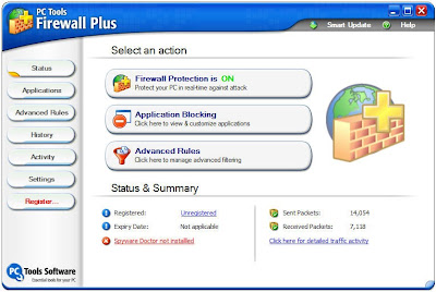 PCTools Firewall Plus 6