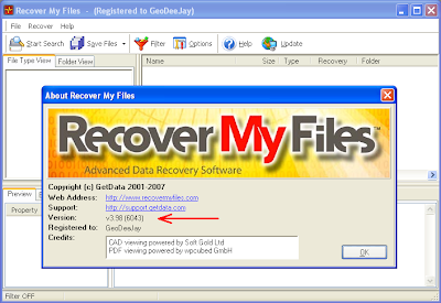 Recover My Files V3 98 Free Download Software