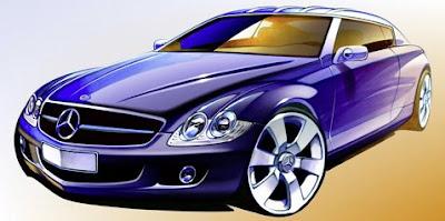 MercedesCLCDrawingTop Mercedes CLC Dream Test Drive Free Full Game