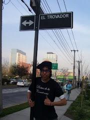 El Trovador tiene una calle