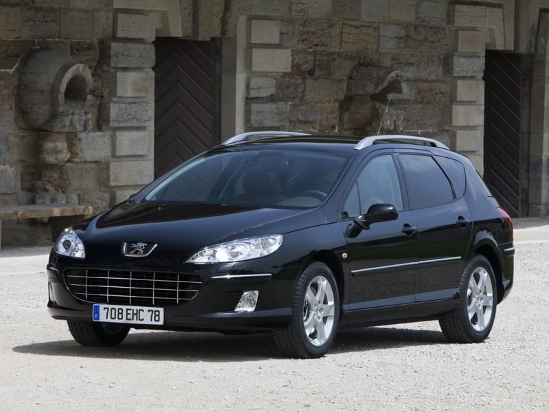 car and cars 2009 peugeot 407 sw. Black Bedroom Furniture Sets. Home Design Ideas