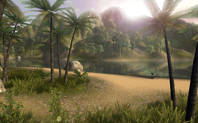 Interactive Multimedia Technology: Chill in an on-line 3d tropical