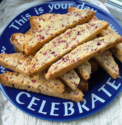 Cranberry Cornmeal Biscotti | Rhubarb Sky