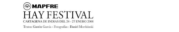Cartagena Hay Festival 2008