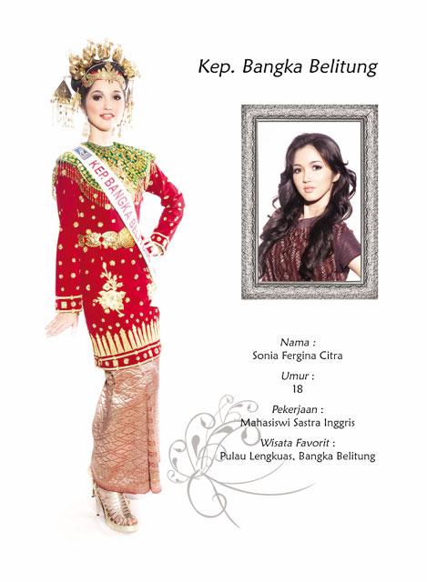 Forum Komunikasi Selebritis Bangka Belitung Sonia Fergina Citra Bintang