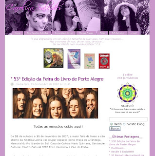 Blog Pessoal Carolina
