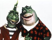 Earl & Robbie from Dinosaurs TV Series