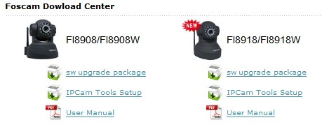Firmware updates for FI8908W and FI8918W - Gadget Victims