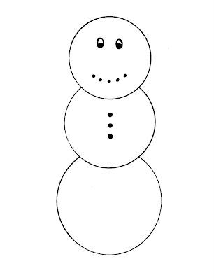 printable snowman templates - Akbagreenw