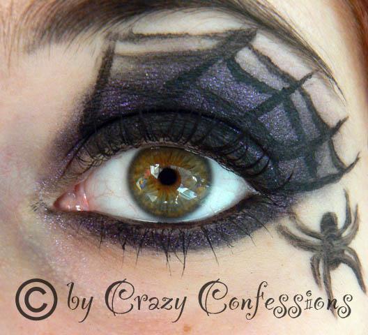 crazy confessions halloween amu spiderwebs. Black Bedroom Furniture Sets. Home Design Ideas