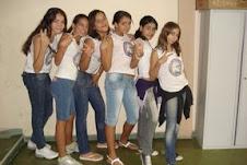 As alunas da 7ª série