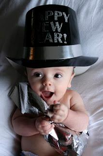 Baby New Year photos