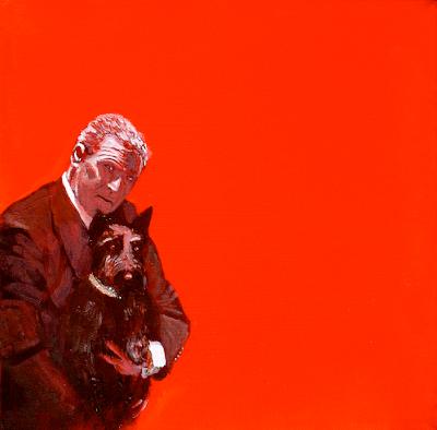 President Bush and Barney the Scottish Terrier