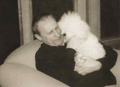 Vladimir Putin poodle Tosya dog