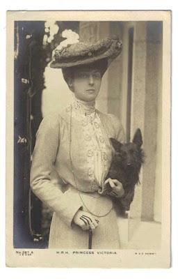 Princess Victoria with Laddie the Scottish Terrier