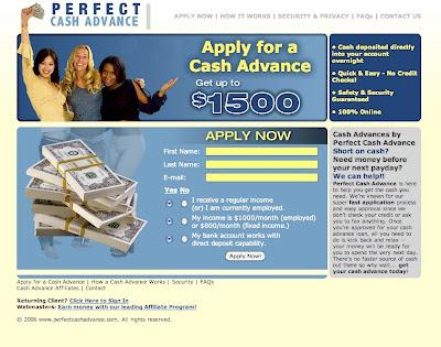 BLOGGERS: Perfect Cash Advance, una opción de liquidez