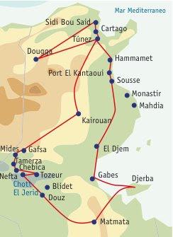 BLOGGERS: Destino al mediterraneo africano. Tunez