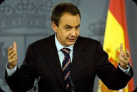 [EUROPE] Spain 'not to tolerate fuel violence'  . Jose Luis Rodriguez Zapatero