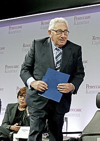 [INTERNATIONAL RELATIONS] Kissinger and Blair Warn of Conflict.