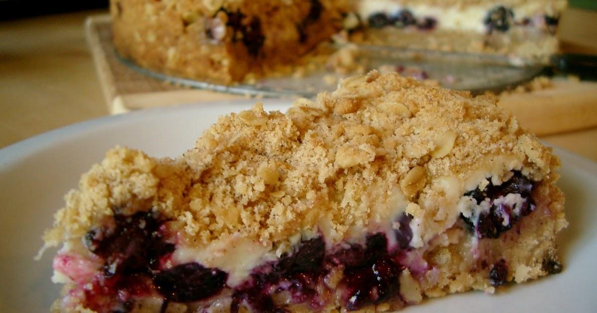 Berry Crumb Coffee Cake