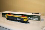 As minhas 3 locomotivas Kato  Renfe