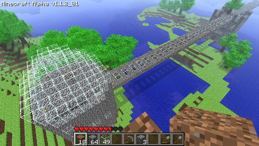 How To Make A Glass Dome On Minecraft  These Landscapes Are