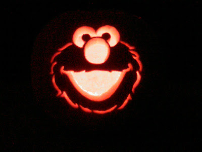 That 39 s what she said an elmo 39 s world halloween for Elmo pumpkin template