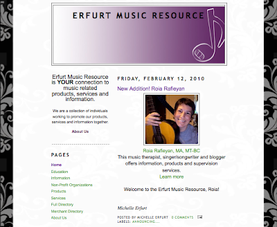 Friday Fave: Erfurt Music Resource