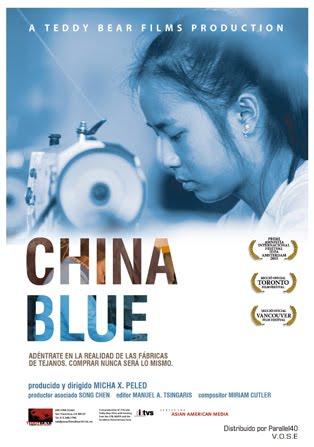 16/03:: China Blue :: docu sobre l'explotació laboral de les dones a la Xina