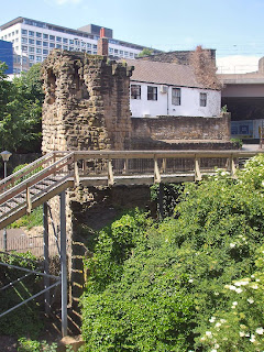 Newcastle Town Walls - Corner Tower