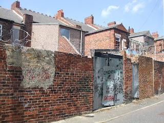 Derelict Old Benwell, Newcastle upon Tyne. july 2008