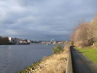 Walker Riverside with St Peters Basin in the distance