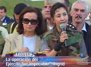 """Foto 0 en  - Ingrid Betancourt: ?Los colombianos eligieron a Alvaro Uribe, los Colombianos no eligieron a las FARC"""""""