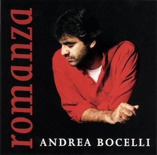 portada frente CD Andrea Bocelli   Romanza