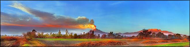 Volcán Popocatépetl (s/f)