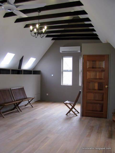 Attic Conversion New Living Room