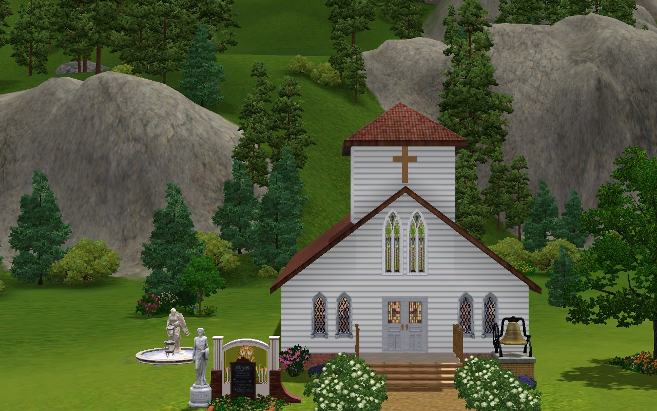 Jamee's Sims 3: Traditional Church