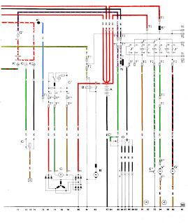 volt914  Electric Porsche 914: 1975 Color Wiring Diagram