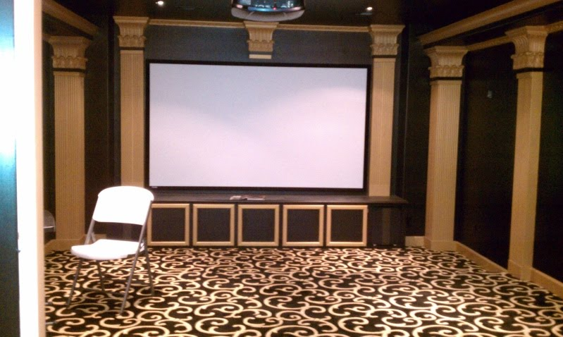 Tha Media Room The Ultimate Home Theatre Experience Fabulous Carpet